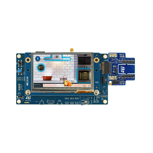 STM32H735G-DK - STM32H735IG MCU Arm Cortex-M7 1Mb Flash Discovery Kit - STMicroelectronics
