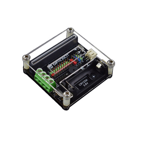 MBT0005 - micro: IO-BOX Expansion Board On-board Li-ion Battery Power - DFRobot