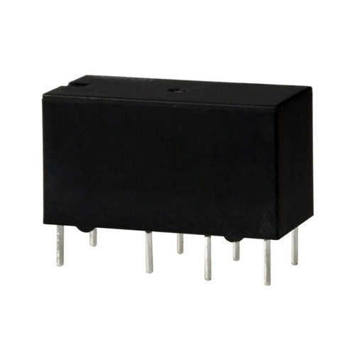 G5V-2-DC12 - 12V 2A DPDT Two-pole Low Signal Relay Through Hole - Omron Electronics