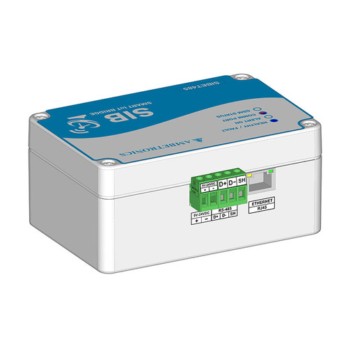 SIBET-485 - RS-485 MODBUS to Ethernet Converter - Ambetronics