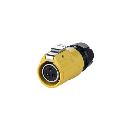 LP-20-J03PE-01-021 - LP20 Series 500V 20A 3Pin Male Plug IP67 Waterproof Power Connector - Linko Electric