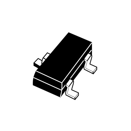 BC847CLT1G - 45V 100mA NPN Bipolar Silicon Transistor SMD 3Pin SOT-23 - ON Semiconductor