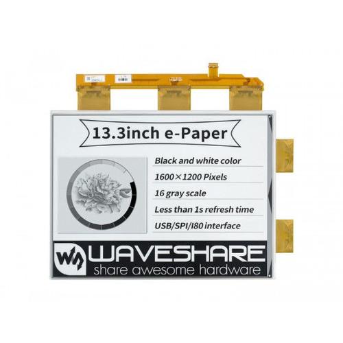 13.3inch e-Paper e-Ink Raw Display