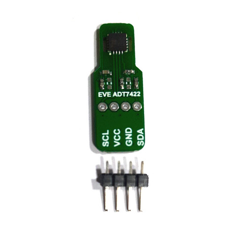 Evelta ADT7422 0.1C Remote I2C Temperature Sensor Board