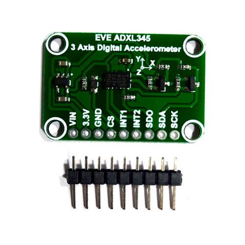 EVE-ADXL345 - Evelta ADXL345 Triple Axis Digital Accelerometer Breakout