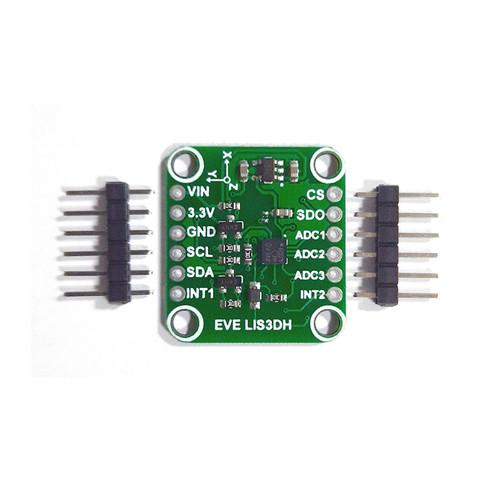 LIS3DH - Evelta LIS3DH Triple Axis MEMS Accelerometer Breakout I2C/SPI