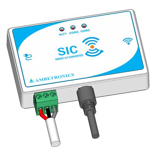 Industrial Wi-Fi & RS485-MQTT Gateway, Serial-MQTT Smart IoT Convertor (SIC)