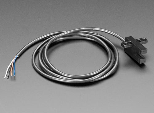 3985 - T-Slot Photo Interrupter Photomicrosensor with 1 Meter Cable Adafruit - Adafruit