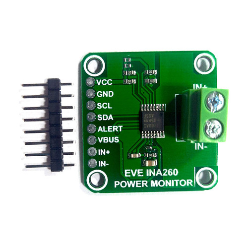EVE-INA260 - Evelta INA260 Voltage, Current, Power Monitor Sensor Breakout