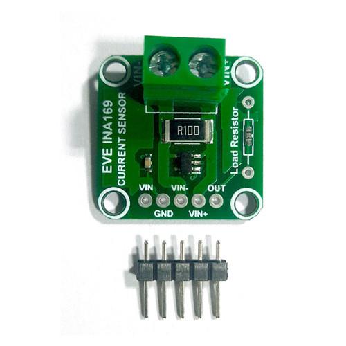 Evelta INA169 60V Analog DC Current Sensor Breakout