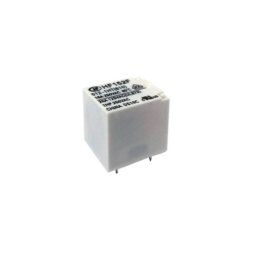 HF152F-T/012-1ZSTQ - HF152F Series 20A 12VDC SPDT PCB Mount Subminiature High Power Relay