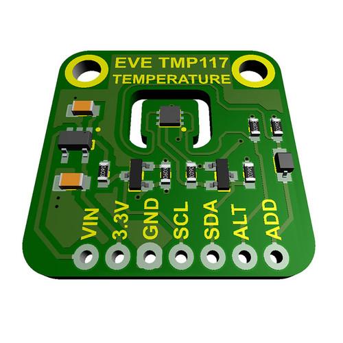 EVE-TMP117 - Evelta TMP117 Accurate Digital Temperature Sensor I2C Breakout