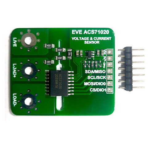 Evelta ACS71020 Power Monitoring and Overcurrent Detection Breakout