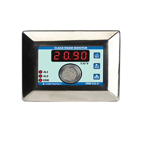 CRM-111-2 - Clean Room Oxygen Monitor for Pharmaceutical, Cold Storage - Ambetronics