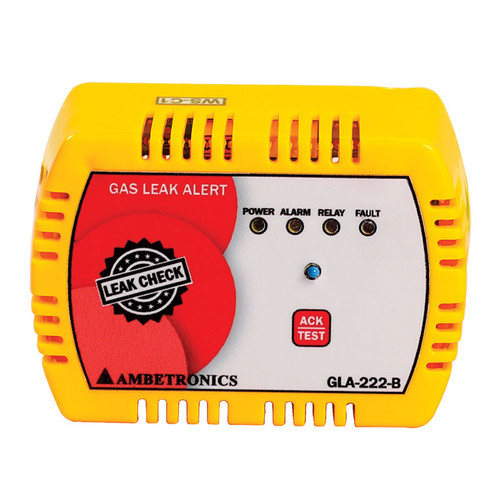 GLA-222 - Ambetronics LPG/PNG/CNG Gas Leak/Smell Detector with Alarm for Home and Commercial Kitchen