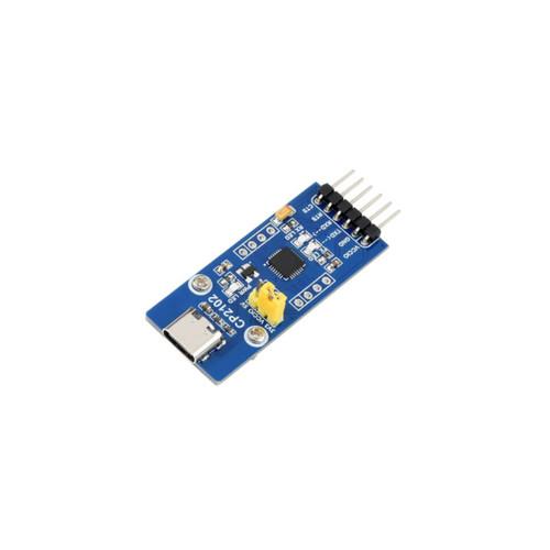 CP2102 USB UART Board (Type C), USB To UART (TTL) Communication Module, USB-C Connector