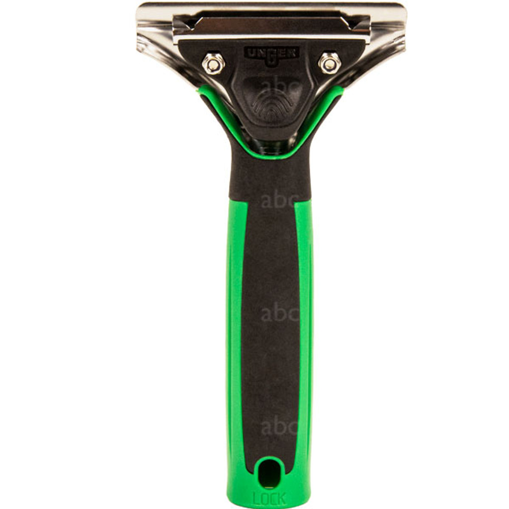 Unger Green Ergotec Quick Release Extra Long Handle - Back