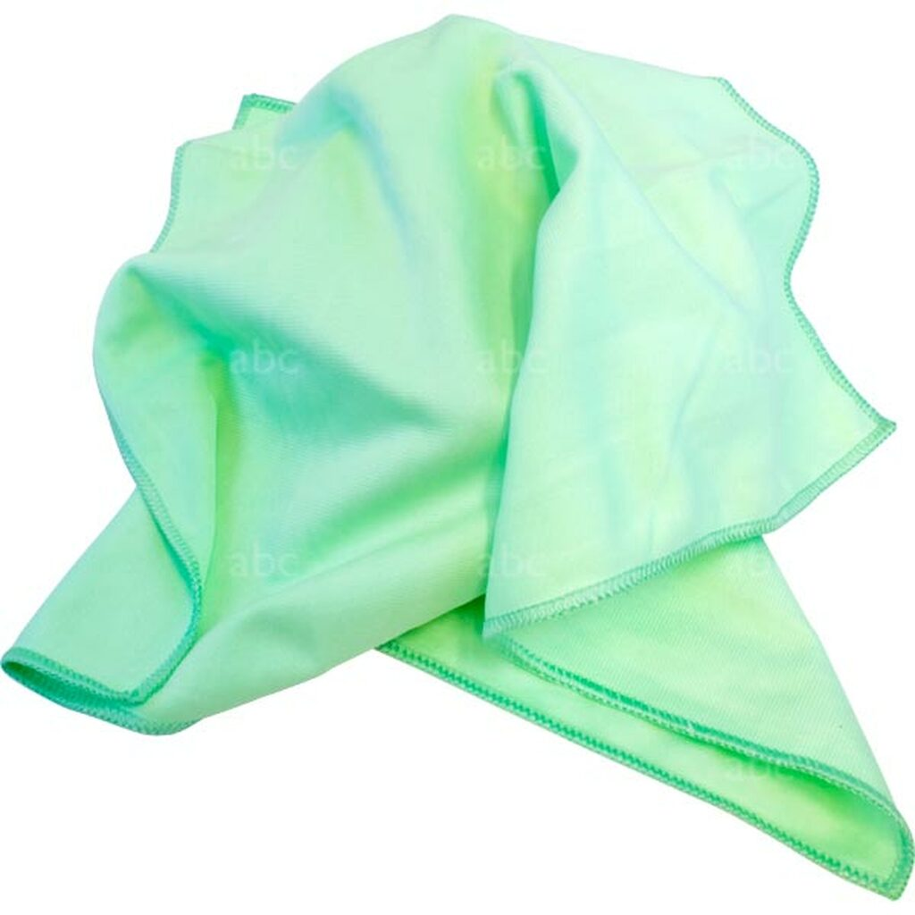 TC-GMF-01 Triple Crown Green MicroFiber Towel