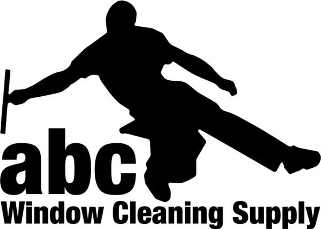 STICKER - ABC WINDOW MAN LOGO - BLACK AND WHITE