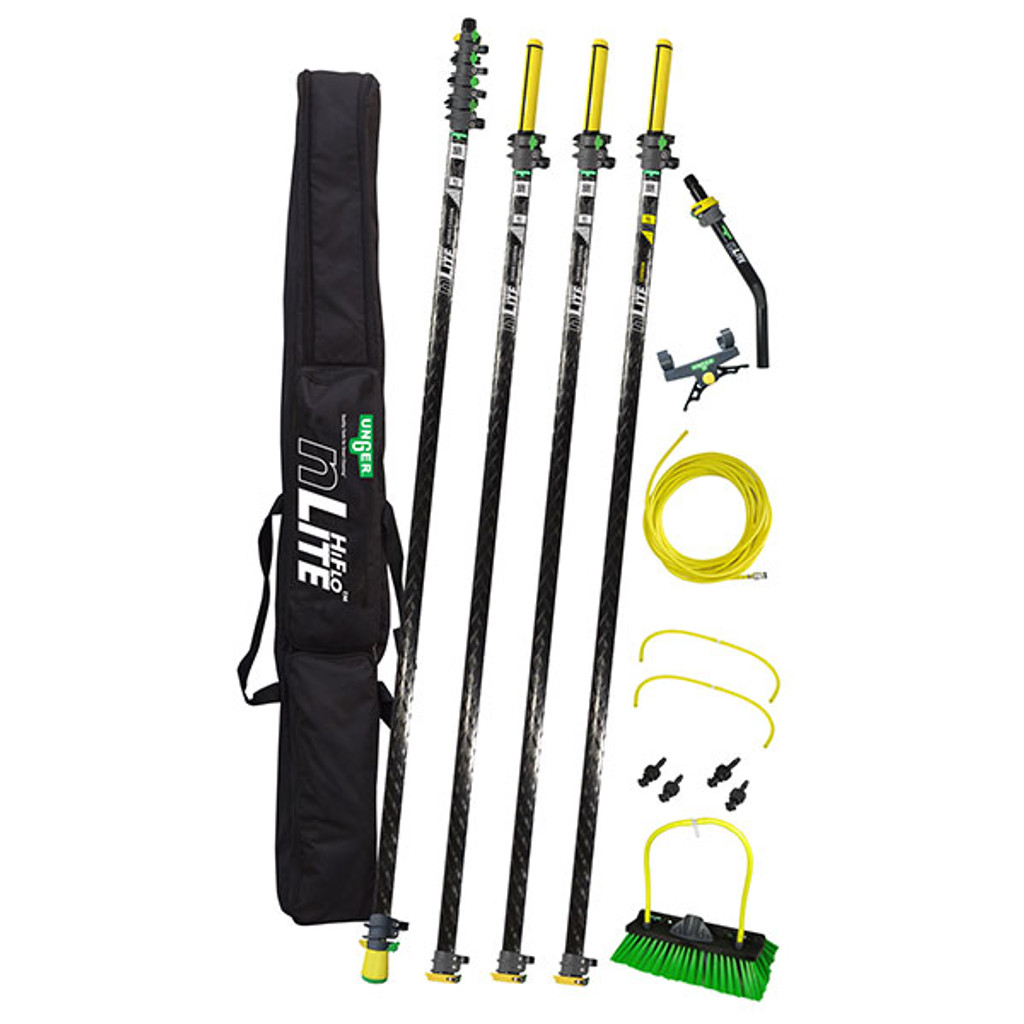 WaterFed ® - Poles - Unger -  55' HiFlo nLite hiMod Carbon - Kit