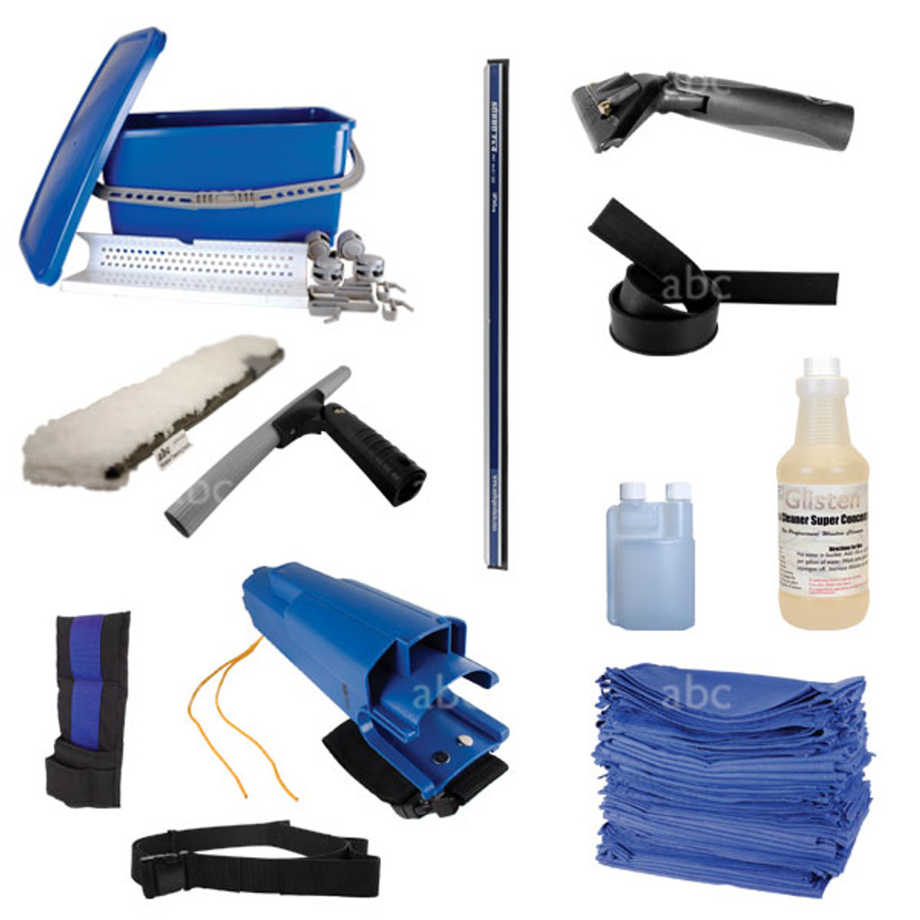 Get everything you need to start cleaning windows with the Jeff Klass Basic Window Cleaning Kit. Jeff Klass developed, abc approved.