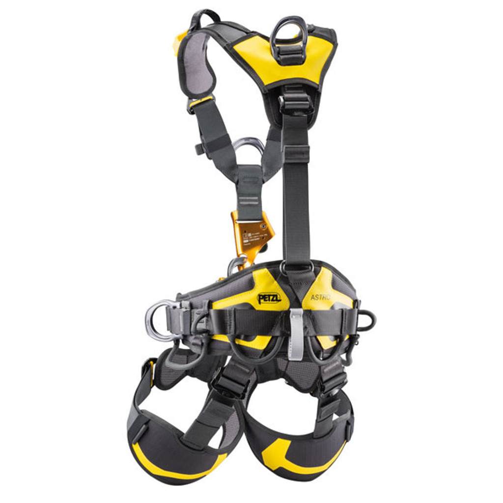 Petzl Astro Full Body Rope Access Harness - Back