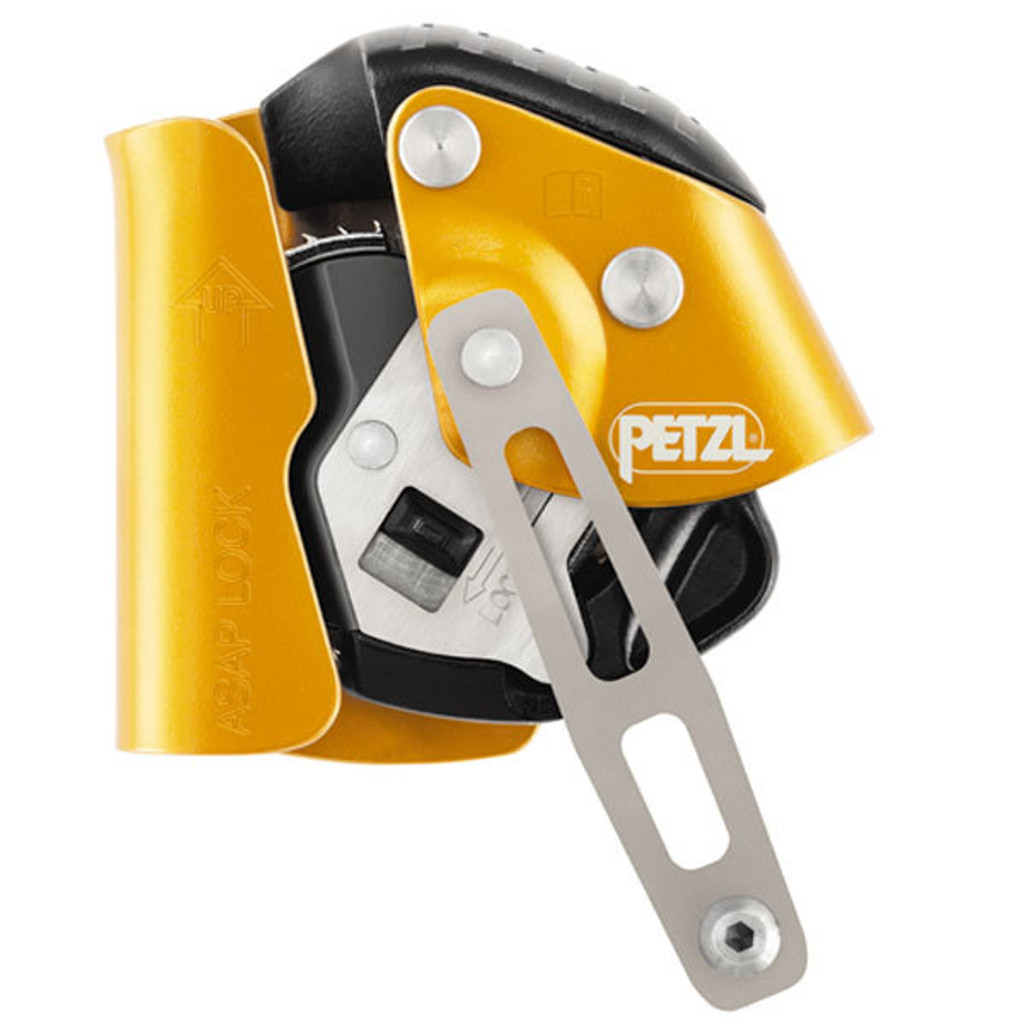 "Petzl ASAP Lock Back Up Rope Grab for 7/16"" and 1/2"" Rope"