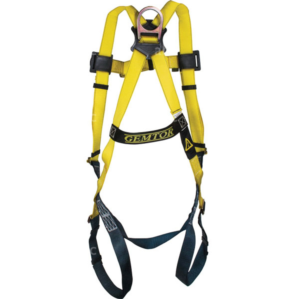 Harness -- Gemtor - Full Body - Universal Sizing - Back
