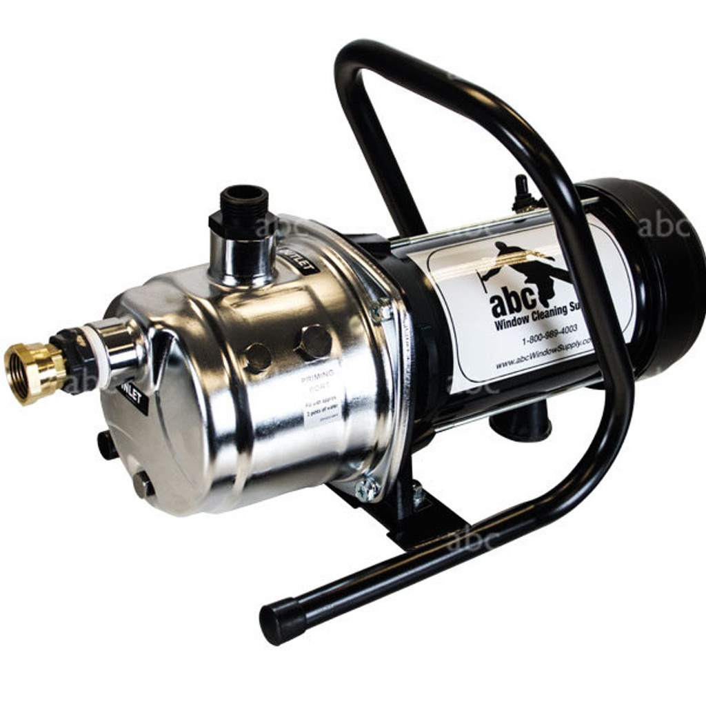 1 Horsepower Booster Pump - Stainless Steel