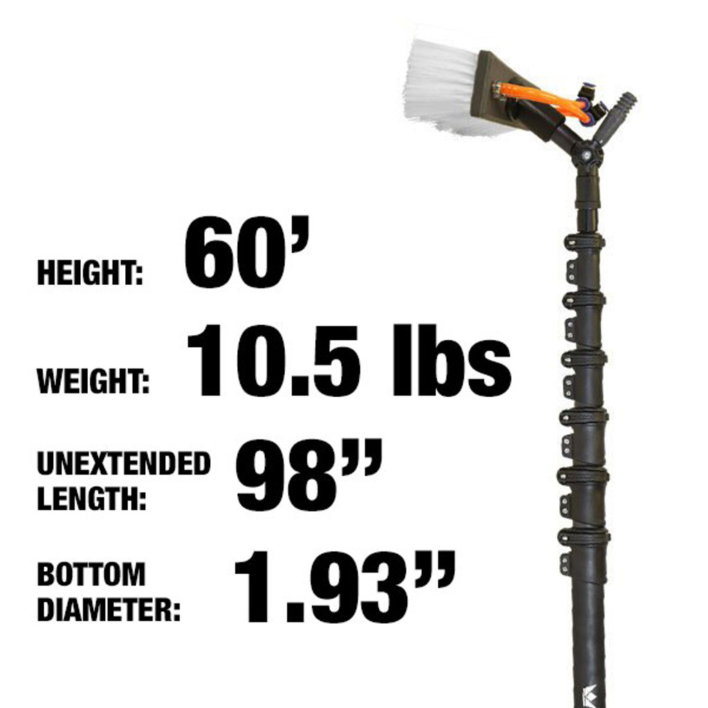 60ft: $1499.00: 10.5lbs: HiMod Carbon