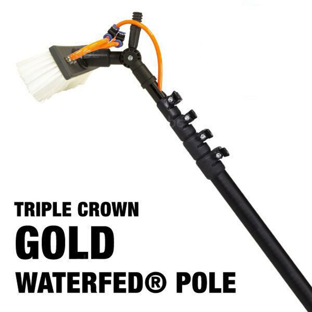 Triple Crown Gold WaterFed® Pole