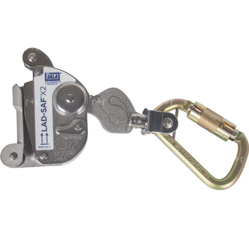 "DBI SALA Lad-Saf X2 Cable Grab for 5/16"" or 3/8"" Cable"