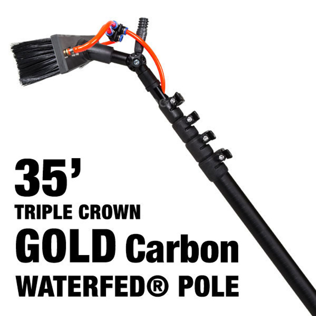 35' Gold Carbon Pole