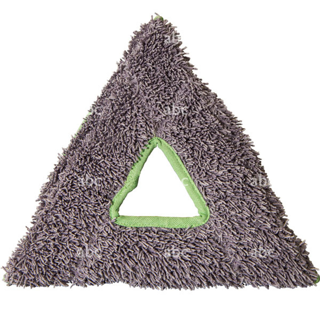 Gray Triangle Shaped Washing Pad for Stingray