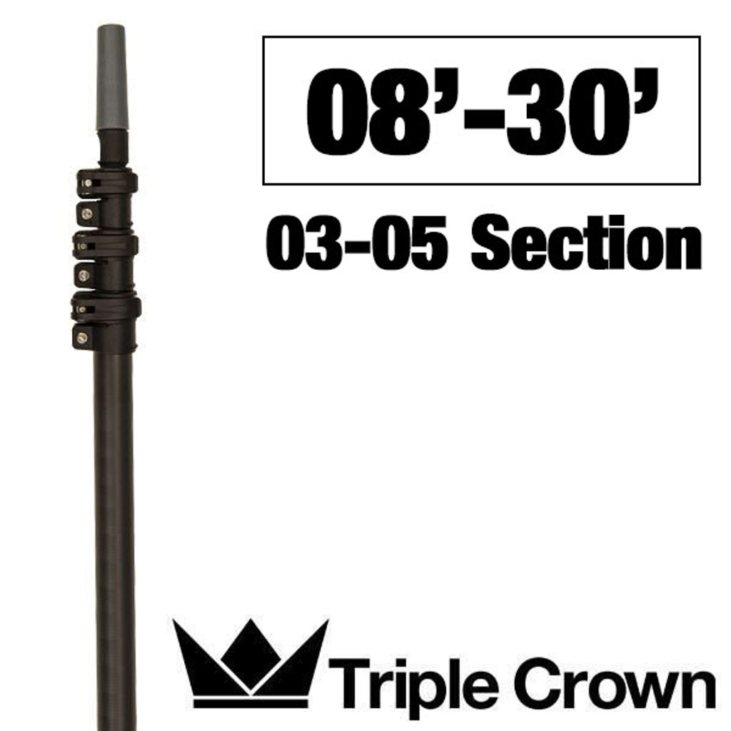 Triple Crown Silver TRADITIONAL Poles