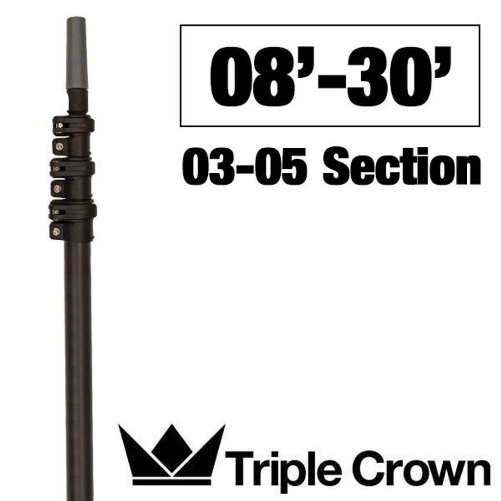 Triple Crown Silver TRADITIONAL Poles
