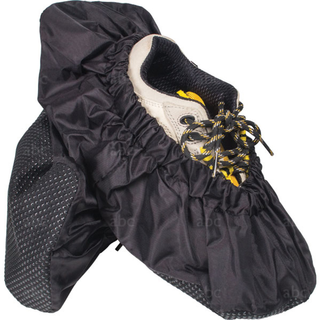 4850BW Shoe Covers- All Black