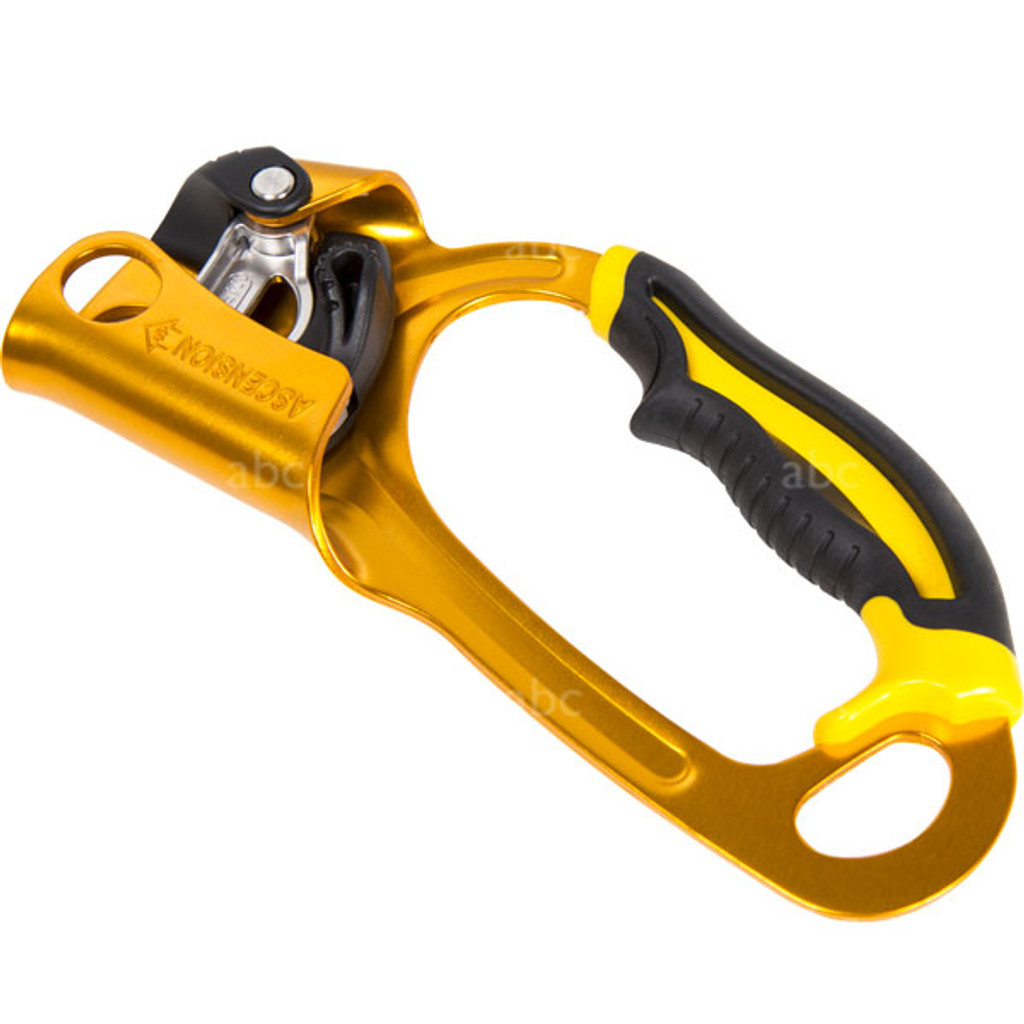 B17WRA-GOLD Petzl Ascender - Right Handed