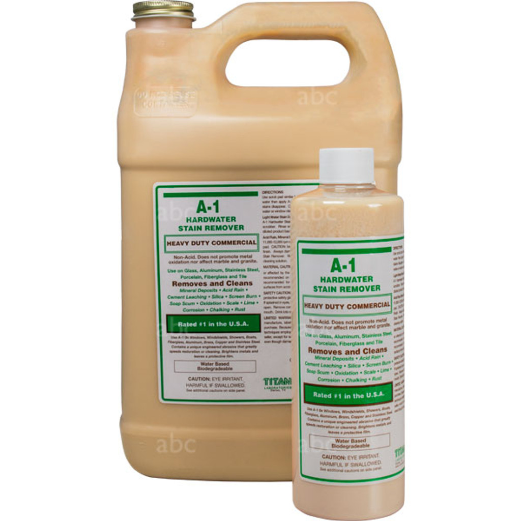 46012-16-01 Titan A-1 Stain Remover Gallon And Pint