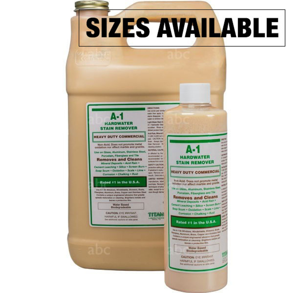 Titan A-1 Stain Remover Gallon And Pint