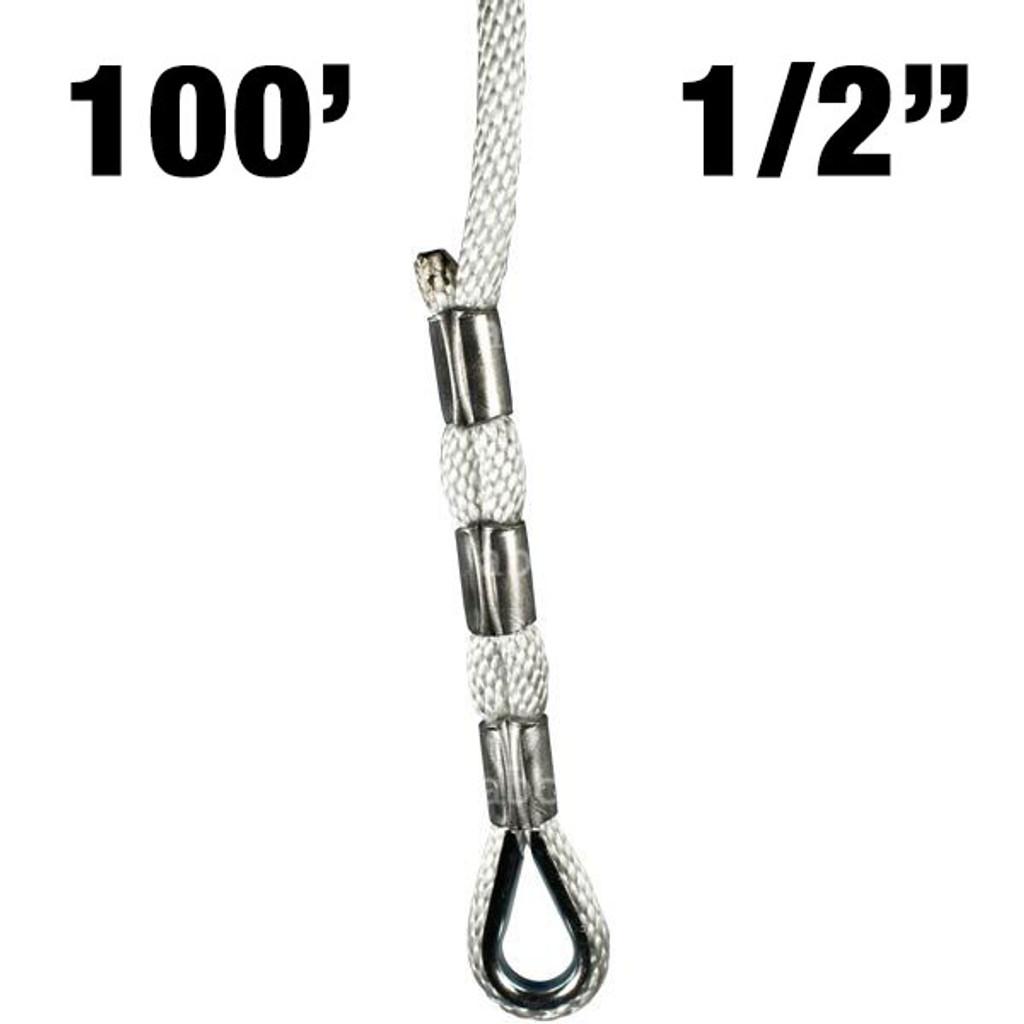 L4-100 Descent Control Sky Genie Thimbled Rope