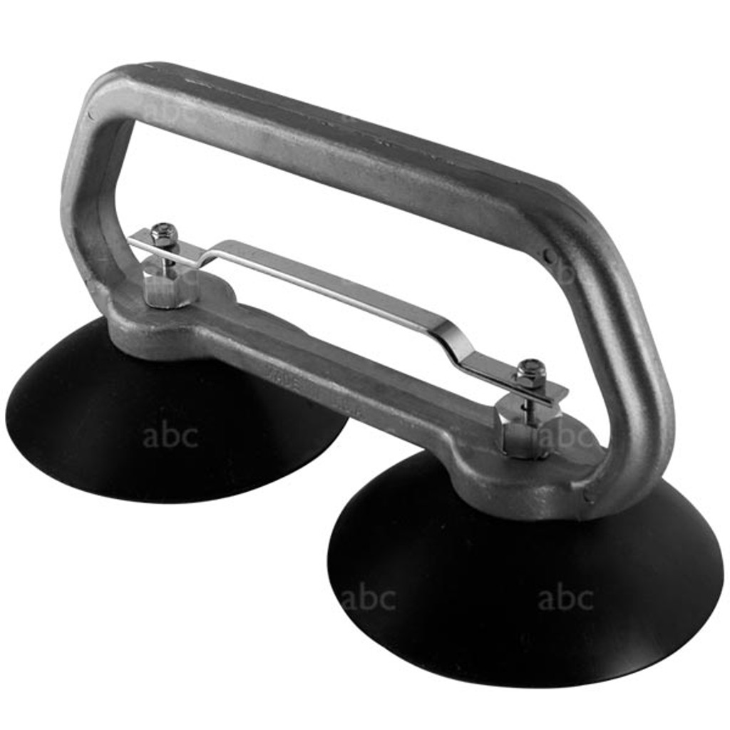 "Double 5"" Suction Cup Grabber - Stainless Steel"