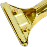 Squeegee Parts - Brass - Back Plate for Ettore Clip Style Handle (1324)