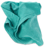 Used Green Surgical Huck Towels