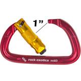 Rock Exotica Rockd Aluminum Twist-Lock Carabiner