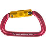 The back of Rock Exotica Rockd Aluminum Twist-Lock Carabiner