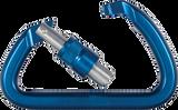 SMC Aluminum Manual Locking D Carabiner