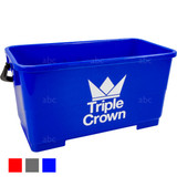 Bucket -- Triple Crown - 6 Gallon Rectangular - Blue - Each