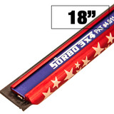 "Channel - 18"" - Sorbo S Style -- RED, WHITE, & BLUE"