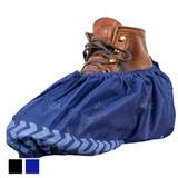 Premium Skid-Resistant Shoe Cover Booties - Blue